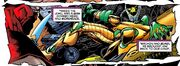 Nathaniel Richards (Rama-Tut) crash lands in ancient egypt in Rise of Apocalypse Vol 1 2