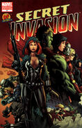Secret Invasion Vol 1 4 Mel Rubi DF Variant