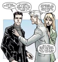 Peter Parker, George Stacy and Gwendoline Stacy (Earth-616) from Amazing Spider-Man Vol 1 700 0001