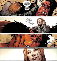 Annie (LMD) (Earth-616) Thaddeus Ross (Earth-616) Hulk Vol 2 38