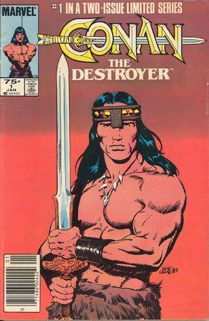 Conan the Destroyer Movie Special Vol 1 1