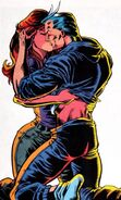 Pietro Maximoff (Earth-616) and Crystalia Amaquelin (Earth-616) from X-Factor Vol 1 88 0001