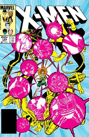 Uncanny X-Men Vol 1 188