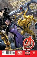 Avengers Vol 5 26 Weaver Variant