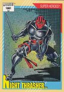 Dwayne Taylor (Earth-616) from Marvel Universe Cards Series II 0001