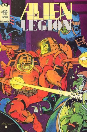 Alien Legion Vol 2 4
