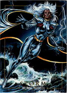 Ororo Munroe (Earth-616) from Marvel Masterpieces Trading Cards 1992 0001