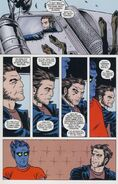 Nation X Vol 1 1 page -- Kurt Wagner & James Howlett (Earth-616)