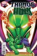 Thanos vs. Hulk Vol 1 4 Lim Variant