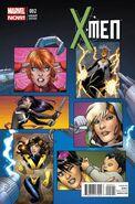 X-Men Vol 4 2 Connor Variant