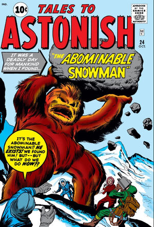 Tales to Astonish Vol 1 24
