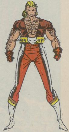 Cougar (Earth-616) from Marvel Age Vol 1 84