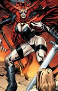 Hela (Earth-1610) from Ultimate Comics Ultimates Vol 1 19