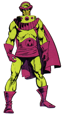 Mesmero (Vincent) (Earth-616) from Official Handbook of the Marvel Universe Vol 1 7 0001