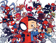 Combined Baby Variants from Superior Spider-Man Vol 1 33 & Amazing Spider-Man Vol 3 9