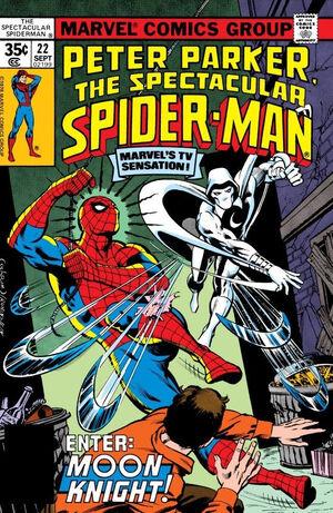 Peter Parker, The Spectacular Spider-Man Vol 1 22