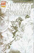 Avengers Invaders Vol 1 1 Variant Sketch