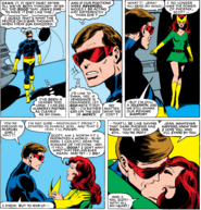 Phoenix Force as Jean Grey and Scott Summers (Earth-616) from X-Men Vol 1 137 0001