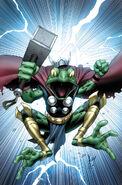 Thors Vol 1 1 Keown Variant Textless