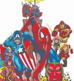 Avengers (Earth-98105) Amazing Spider-Man Vol 1 439