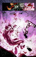 New X-Men (Earth-616) and Nimrod (Earth-811) from New X-Men Vol 2 31 0001
