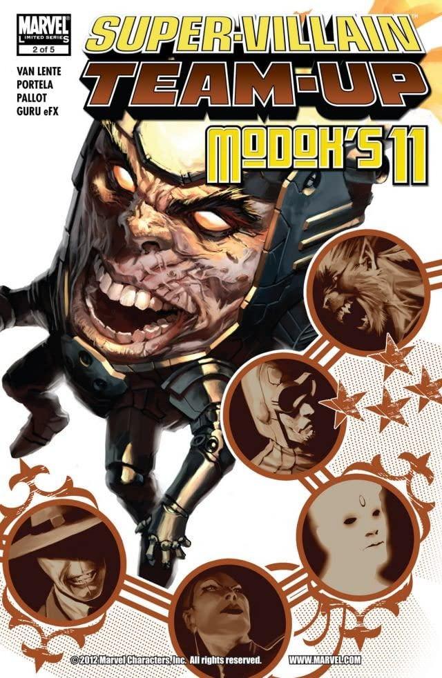 Super-Villain Team-Up MODOK's 11 Vol 1 2