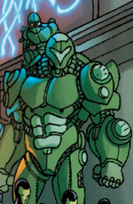 Subguardian Warstar (Earth-616) from Wolverine and the X-Men Annual Vol 1 1 0001