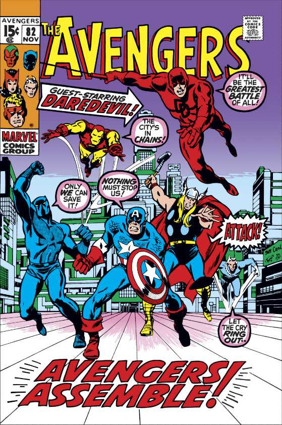 Avengers Vol 1 82