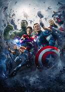 Avengers Age of Ultron poster 001 Textless