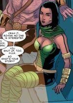 Shakti Haddad (Earth-TRN590) from Spider-Man 2099 Vol 3 14 0001