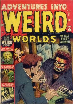 Adventures into Weird Worlds Vol 1 6
