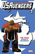U.S.Avengers Vol 1 1 Michigan Variant