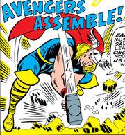 First Avengers Assemble from Avengers Vol 1 14