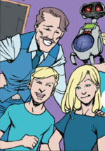 Fantastic Four (Earth-65) from Spider-Gwen Vol 2 7 001