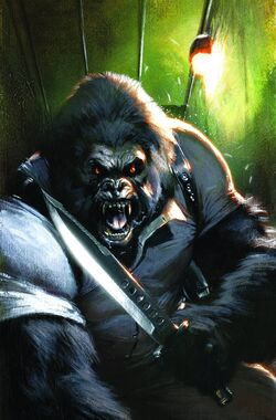Gorilla Man Vol 1 3 Textless