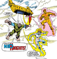 Neo-Knights (Earth-120185) from Transformers (UK) Vol 1 314 001