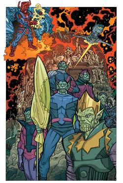 Skrull Empire from Annihilation Super-Skrull Vol 1 1 001