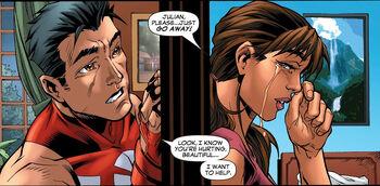 Julian Keller (Earth-616) and Sofia Mantega (Earth-616) from New X-Men Vol 2 22 0001