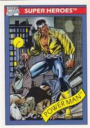 Luke Cage (Earth-616) from Marvel Universe Cards Series I 0001