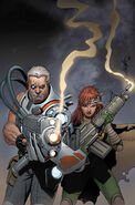 Cable and X-Force Vol 1 15 Textless