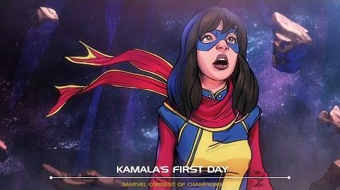 Kamala's First Day Marvel Contest of Champions