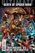 Ultimate Avengers vs. New Ultimates Vol 1 4 Hitch Variant