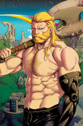 Unworthy Thor Vol 1 2 Anka Variant Textless