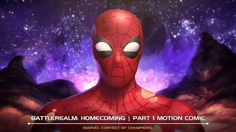 Battlerealm Homecoming Motion Comic Part 1 Marvel Contest of Champions