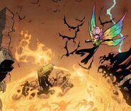 Ben Hammil (Earth-616) and Megan Gwynn (Earth-616) from New X-Men Vol 2 39 0001