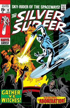 Silver Surfer Vol 1 12
