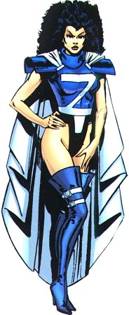 Zala Dane (Earth-616) from Official Handbook of the Marvel Universe Vol 3 8 001