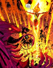 Amara Aquilla (Earth-616) Mephisto (Earth-616) New Mutants Vol 3 30