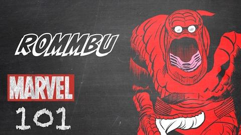 Rommbu – Marvel 101 – Monsters Unleashed