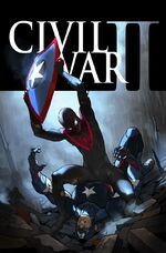 Civil War II Vol 1 6 Textless